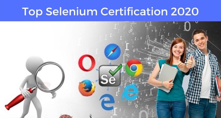 Top Selenium Certification 2020