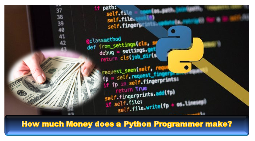 How much money does a Python programmer make?