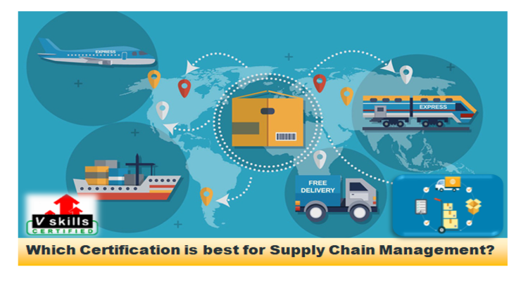 Which certification is best for supply chain management?