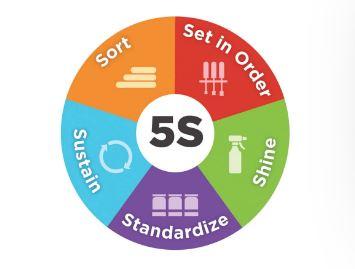 5 steps in 5S