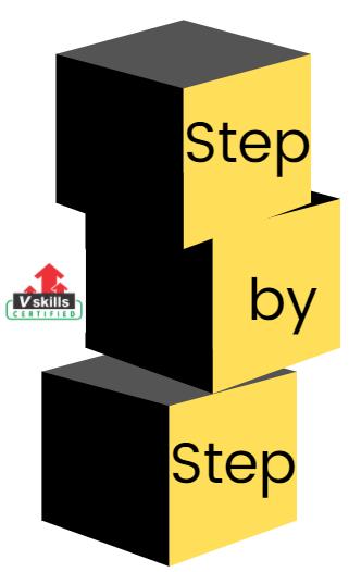 step wise manner