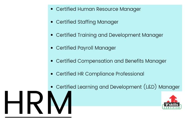 human resource management top certifiation