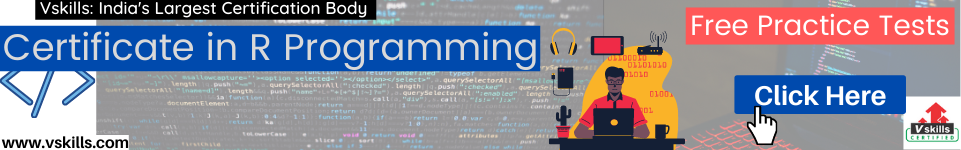 R programming in data science