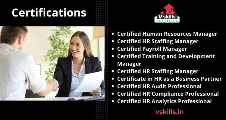certifications Human Resource Management