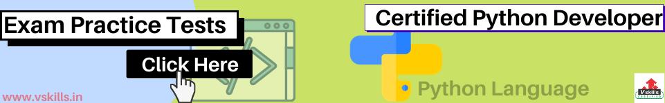web development:  Python practice tests