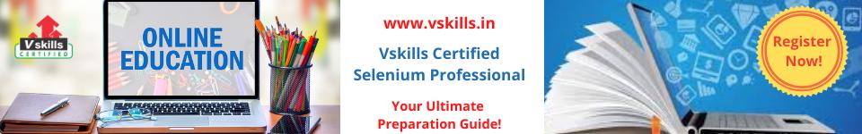 Selenium Free Practice Test