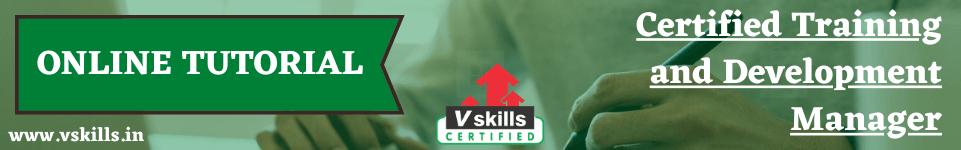 Training and Development online tutorial