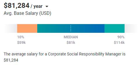 CSR Average salary