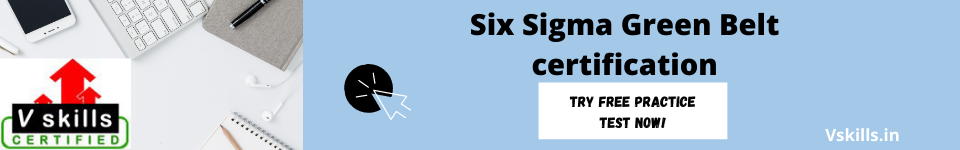 Six Sigma Green Belt certification free test
