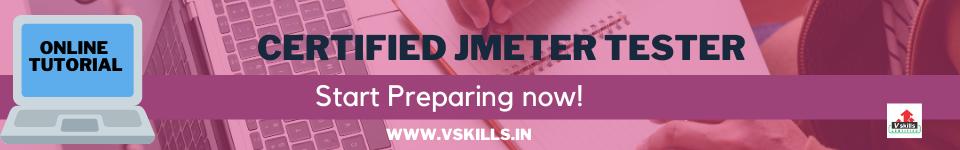 Certified JMeter Tester online tutorial