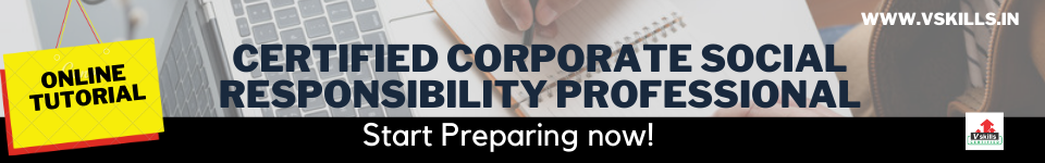 Certified Corporate Social Responsibility Professional online tutorial