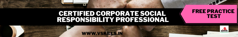 Certified Corporate Social Responsibility Professional free practice test