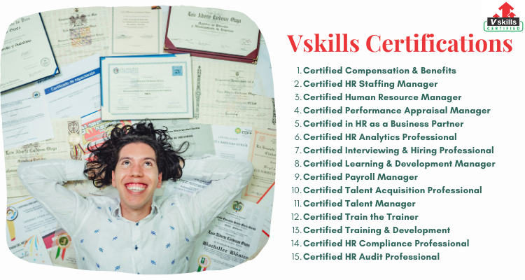 Vskills Certifications in the field of HR