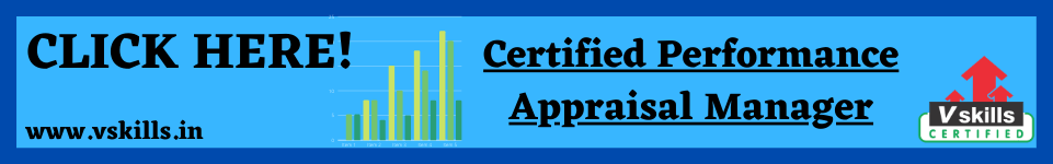 Vskills Certified Performance Appraisal Manager course