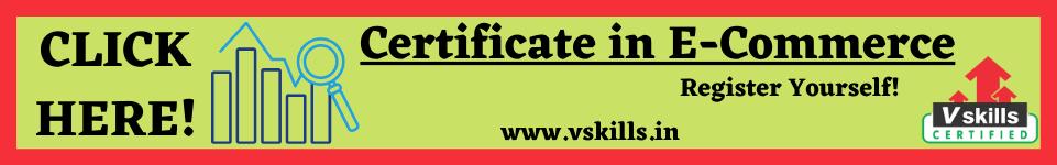 Vskills Certificate in E-Commerce
