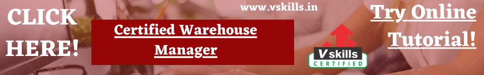 Warehouse Management Online Tutorial