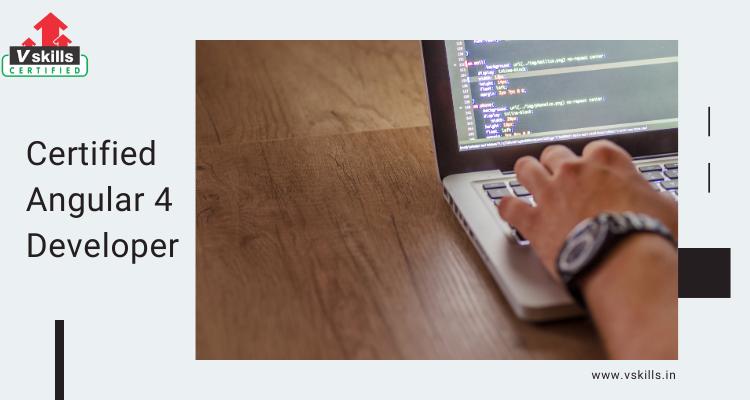 Vskills Certified Angular 4 Developer