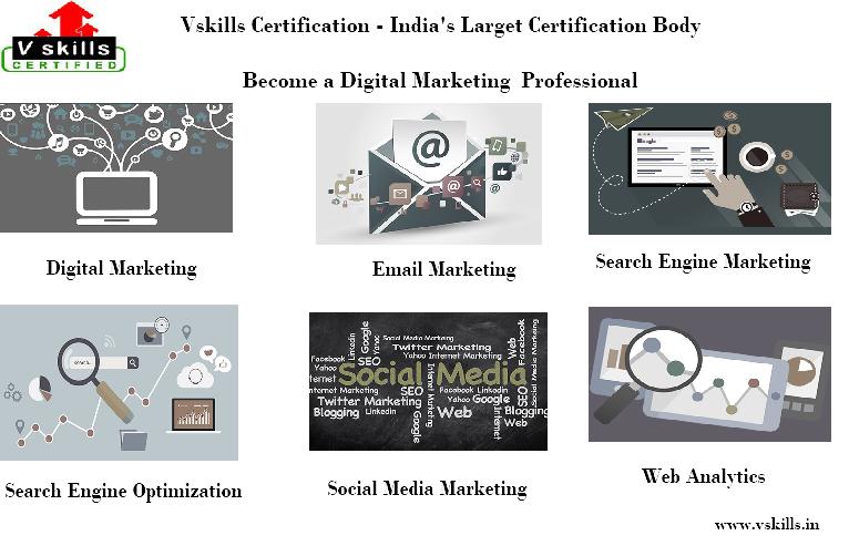 Vskills Digital Media Online Courses