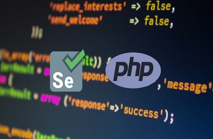 Certified Selenium Automation Tester using PHP