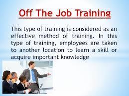 Off-the-job Training Tutorial | Train the Trainer