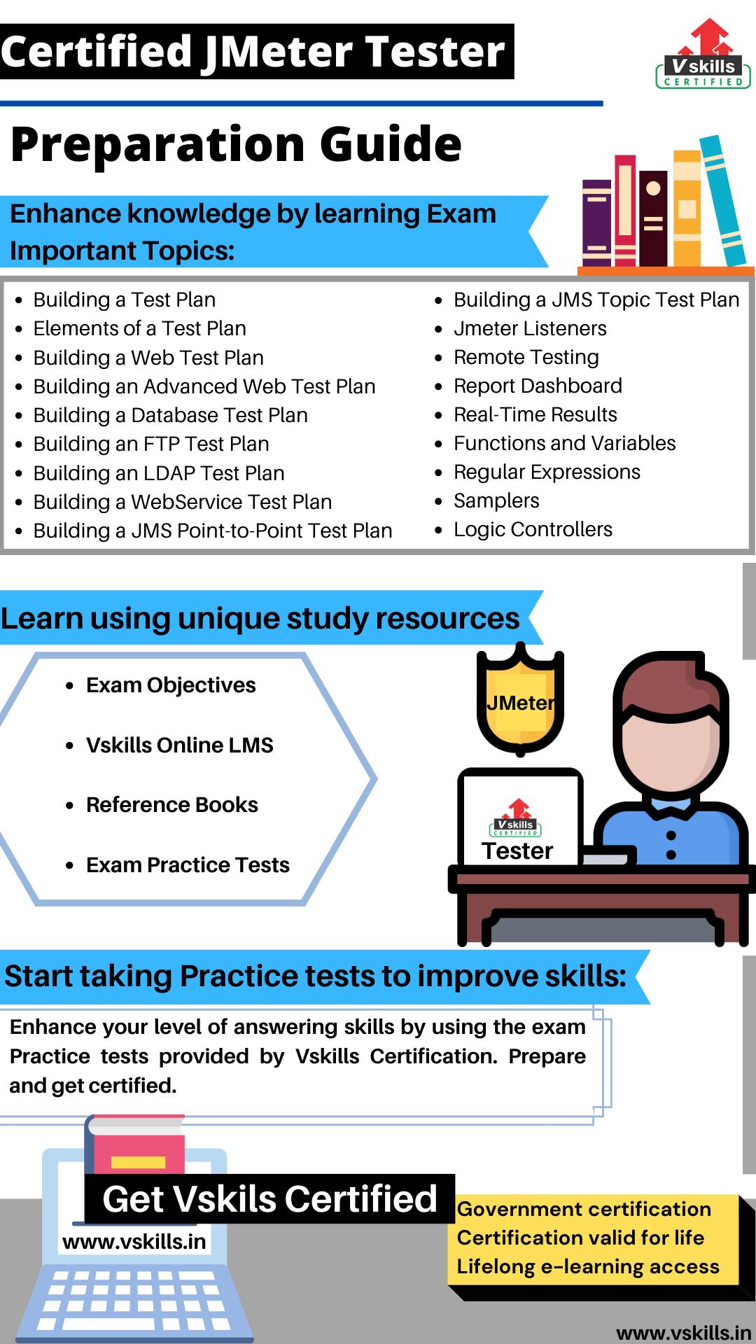 Certified JMeter Tester study guide