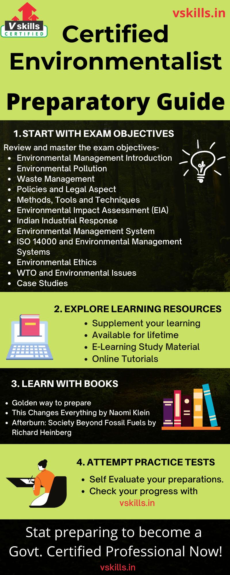 Certified Environmentalist preparatory guide