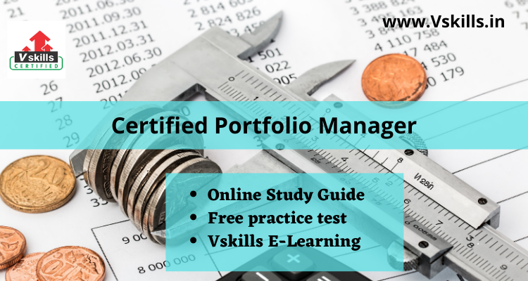 Certified Portfolio Manager study guide