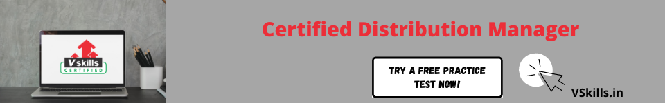 Certified Distribution Manager Free Practice Tests