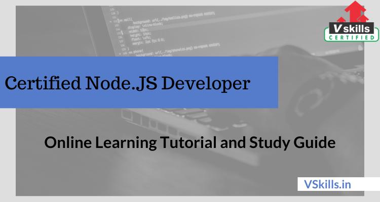 js developer node tutorial certified vskills