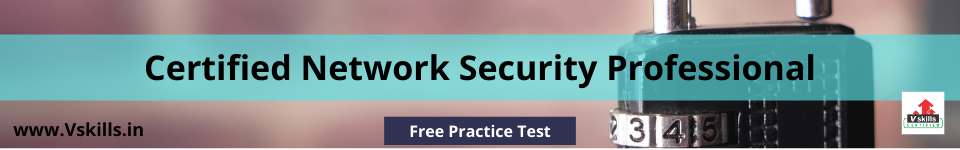 Certified Network Security Professional free practice test