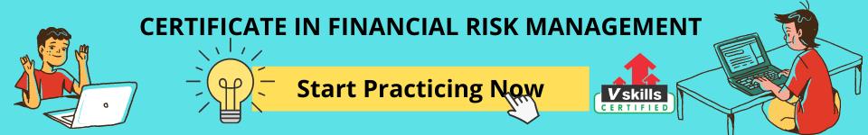 Financial Risk Management Practice Tests