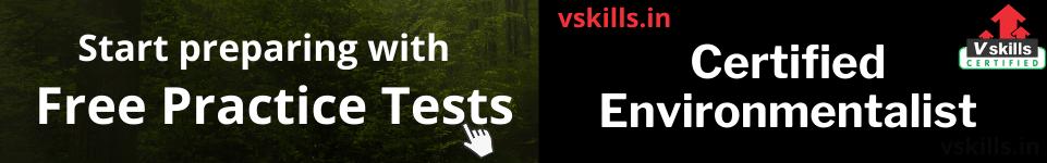 Certified Environmentalist free practice tests