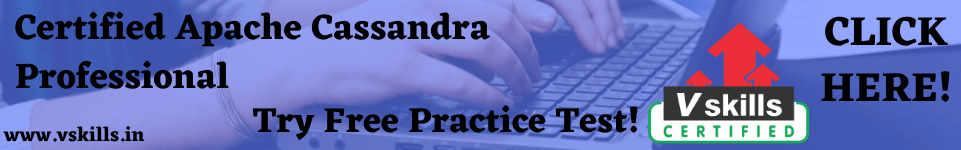 Certified Apache Cassandra Professional practice test
