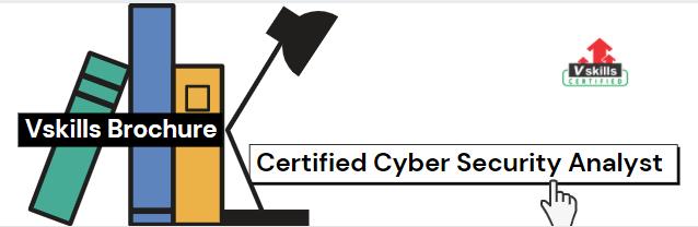 Certified Cyber Security Analyst   exam brochure