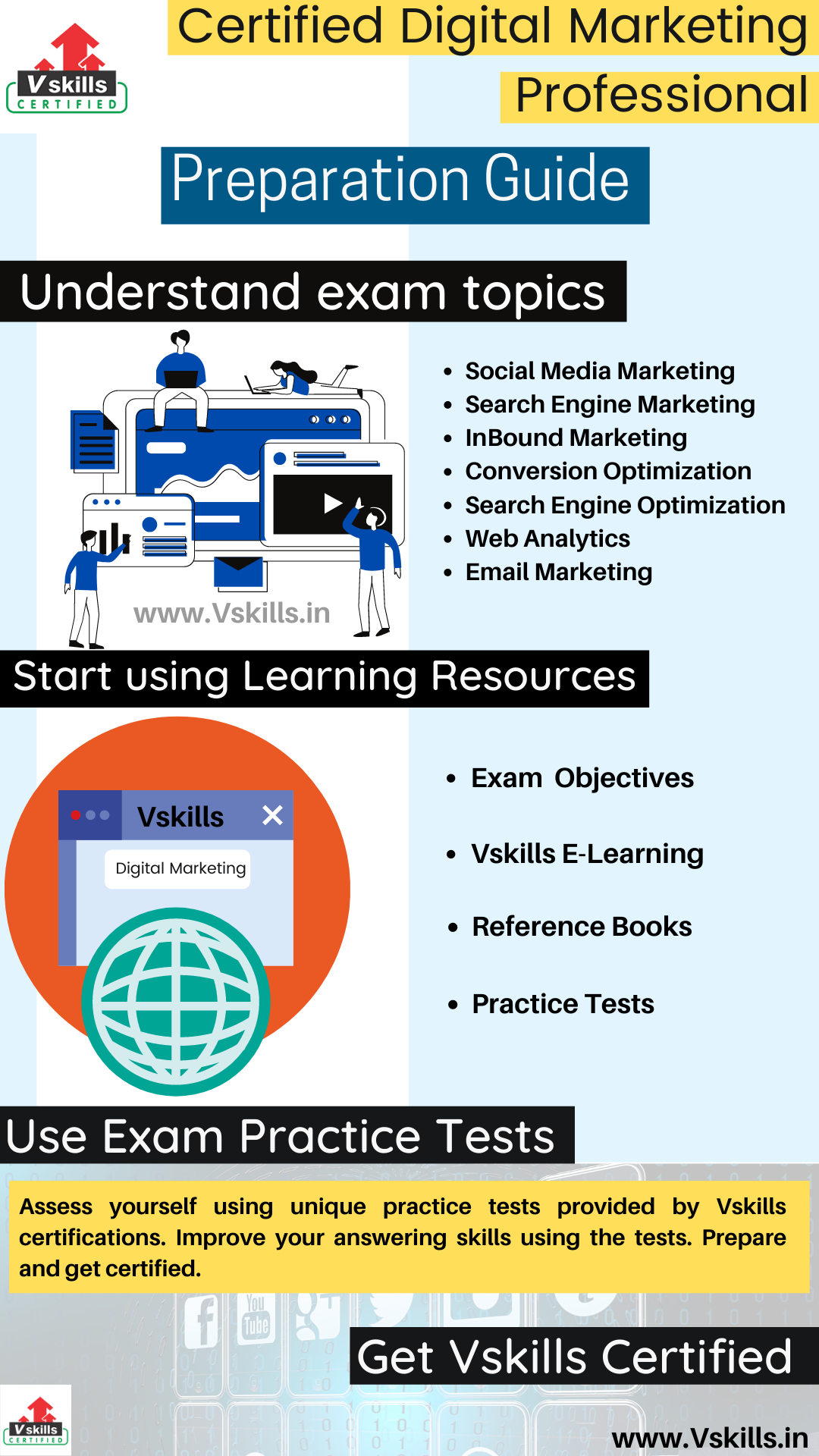 Certified Digital Marketing Professional study guide