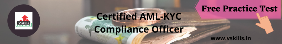AML-KYC Compliance officer free practice test
