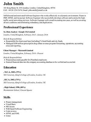 Vskills Resume Builder