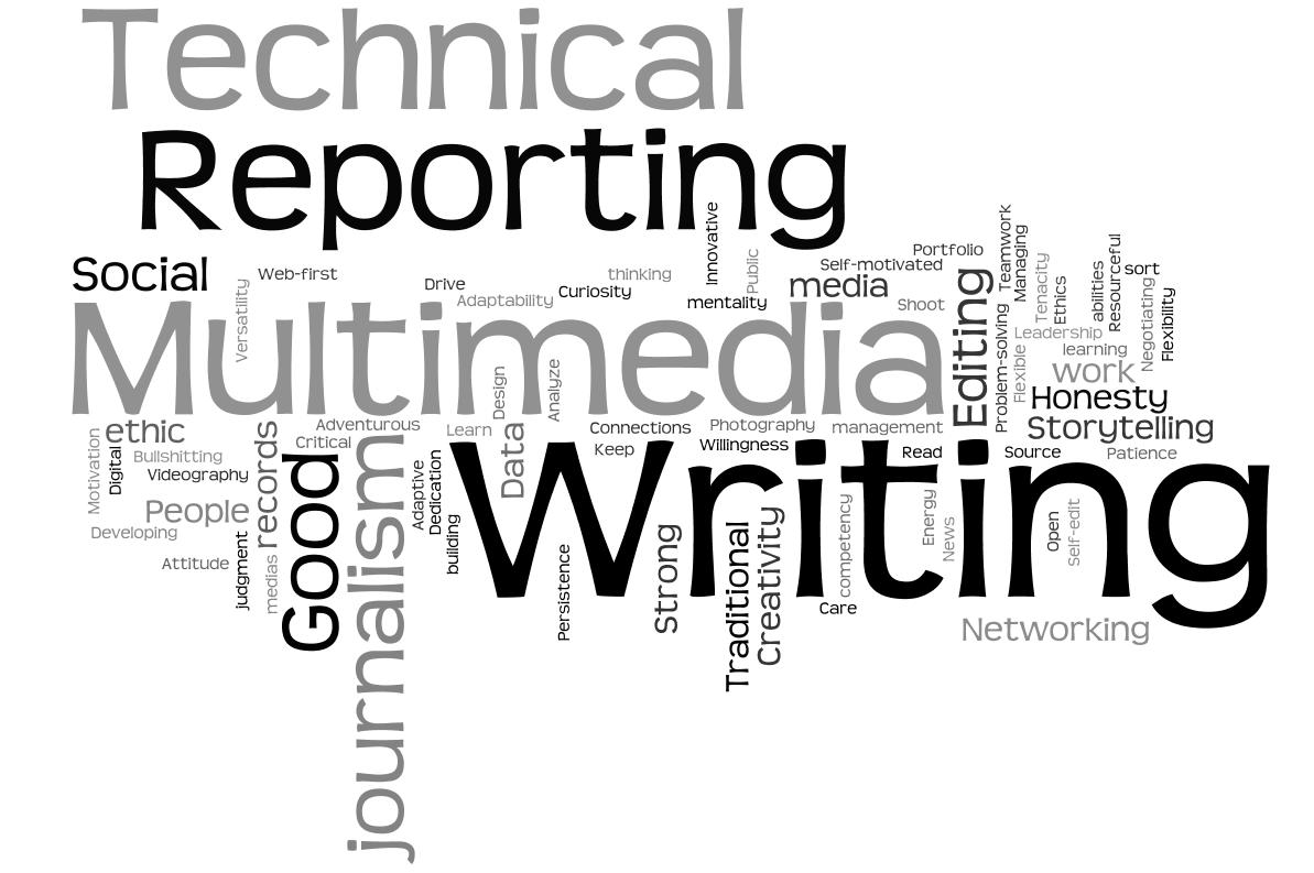 Skills require in journalism field