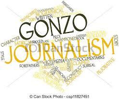 define gonzo journalism
