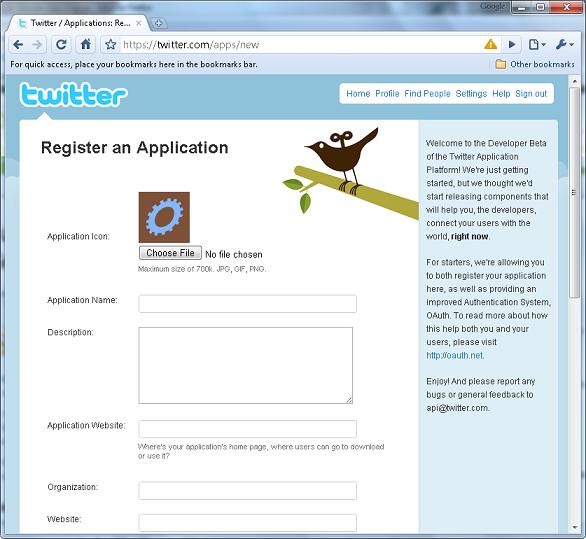 Application Registration - Tutorial